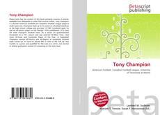 Couverture de Tony Champion