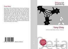 Portada del libro de Tony Choy