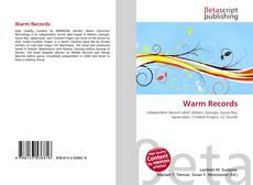 Обложка Warm Records
