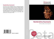 Ramkrishna Kusmaria kitap kapağı