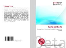 Bookcover of Principal Parts