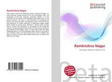 Ramkrishna Nagar kitap kapağı