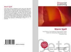 Обложка Warm Spell