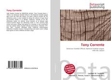 Couverture de Tony Corrente
