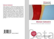 Alemán Coloneiro kitap kapağı