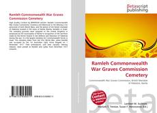 Capa do livro de Ramleh Commonwealth War Graves Commission Cemetery