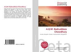Buchcover von A.Q.M. Badruddoza Chowdhury