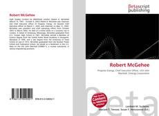 Buchcover von Robert McGehee