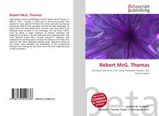 Bookcover of Robert McG. Thomas