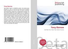 Bookcover of Tony Darrow