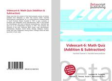 Bookcover of Videocart-6: Math Quiz (Addition & Subtraction)