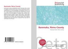 Capa do livro de Rammuka, Pärnu County