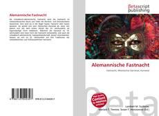 Capa do livro de Alemannische Fastnacht