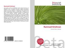 Bookcover of Ramnad Krishnan