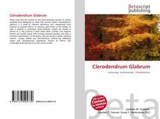 Portada del libro de Clerodendrum Glabrum