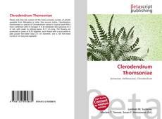 Portada del libro de Clerodendrum Thomsoniae