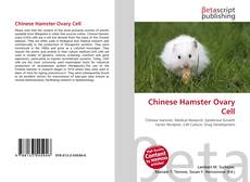 Bookcover of Chinese Hamster Ovary Cell