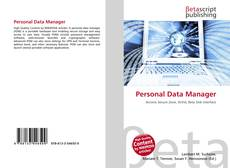 Bookcover of Personal Data Manager