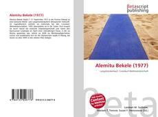 Bookcover of Alemitu Bekele (1977)