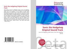 Bookcover of Sonic the Hedgehog Original Sound Track