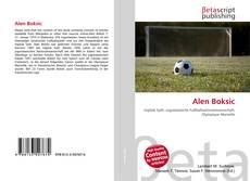 Alen Boksic的封面