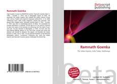 Buchcover von Ramnath Goenka