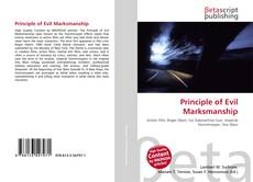 Bookcover of Principle of Evil Marksmanship