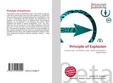 Bookcover of Principle of Explosion