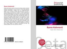 Ramo Kolenović kitap kapağı