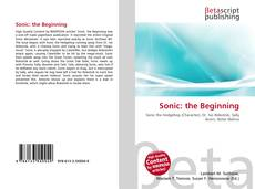Bookcover of Sonic: the Beginning
