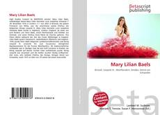 Bookcover of Mary Lilian Baels