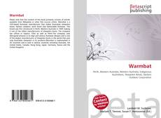 Bookcover of Warmbat