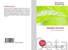 Bookcover of Mentha Arvensis