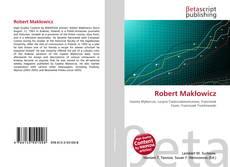 Bookcover of Robert Makłowicz