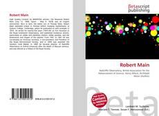 Bookcover of Robert Main