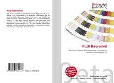 Bookcover of Rudi Baerwind