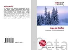 Aleppo-Kiefer的封面