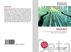 Buchcover von Sonja Ball
