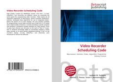 Обложка Video Recorder Scheduling Code