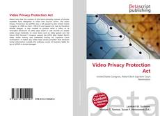 Bookcover of Video Privacy Protection Act