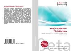 Обложка Sonja Boehmer-Christiansen