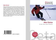 Ales Gorza kitap kapağı