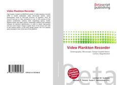 Обложка Video Plankton Recorder