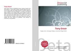 Bookcover of Tony Ensor