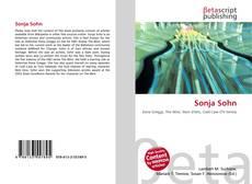 Capa do livro de Sonja Sohn