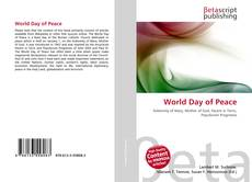 Bookcover of World Day of Peace