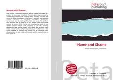 Buchcover von Name and Shame