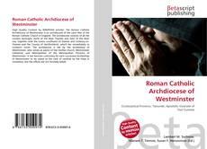 Roman Catholic Archdiocese of Westminster kitap kapağı