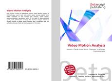 Bookcover of Video Motion Analysis