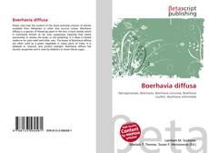 Bookcover of Boerhavia diffusa